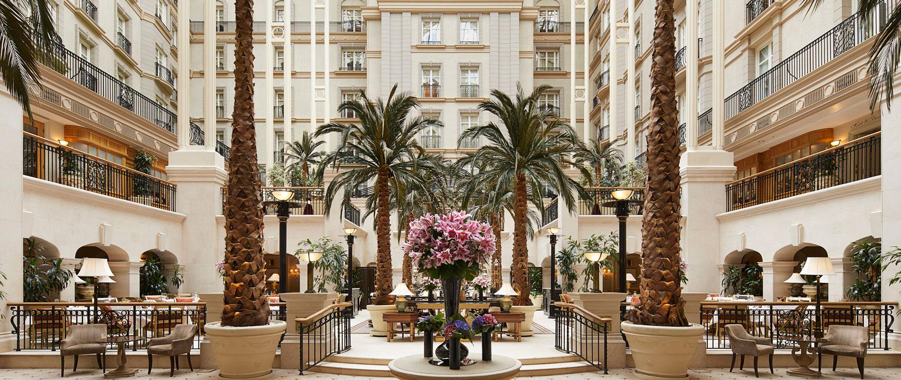 Landmark Hotel Move  London - Hotel Interior Logistics